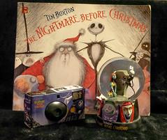 Nightmare Before Christmas Camera (Neal3K) Tags: noveltycamera promotonalcamera advertisingcamera nightmarebeforechristmas jackskellington zero singleusecamera disposablecamera sally