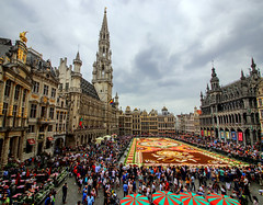 Flower carpet in Brussels, edition 2018 (Frans.Sellies) Tags: img86838684stitch brussels brussel bruxelles