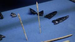 Cuicuilco, Museo de Sito. Agujas y puntas de flecha. (dsancheze1966) Tags: precolumbian precolombino arqueologiamexicana archeology mexicocity insurgentessur agujas puntasflecha