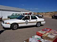 TCPD 2006 (THE RANGE PRODUCTIONS) Tags: fordcrownvictoriapoliceinterceptor partol car county unit cop lawenforcement law desert southwestus sierracountynm smalltownsouthwest newmexico nm pickup