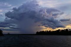 ...approaching storm (Jim Atkins Sr) Tags: cloudsstormssunsetssunrises clouds cravencounty cloudscape fairfieldharbour northwestcreek neuseriver sony sonya58 sonyphotographing storm thunderstorm rain