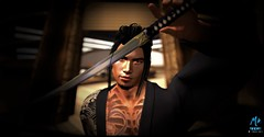 """ The Last Samurai "" (maka_kagesl) Tags: second secondlife sl life landscape game gaming virtual videogame cosplay samurai japan asia asian"