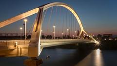 Puente de la Barqueta, Sevilla (alexcalver) Tags: rioguadalquivir spanishbridges sigma1750mmf28 canon80d river water bridge spain sevilla seville puentedelabarqueta
