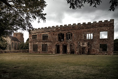 Astley Castle, Warwickshire, UK (KSAG Photography) Tags: warwickshire castle nuneaton building history heritage architecture manor house ruin uk england europe britain unitedkindgom countryside rural landscape wideangle hdr landmarktrust