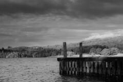summer017-2 (Flight_B) Tags: monochrome lakedistrict ambleside windermere water englishlandscape landscape blackandwhite moody contrast lightroom lightroomcc