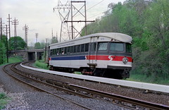 SEPTA NHSL 5-6-89 81 (jsmatlak) Tags: pw philadelphia western electric interurban railway train septa norristown