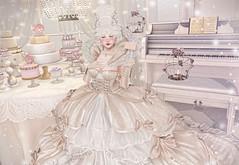 Antoinette's Little Breakfast (Gabriella Marshdevil ~ Trying to catch up!) Tags: sl secondlife cute kawaii doll pastel moonamore mudskin genus bento gacha chezmoi halfdeer mossmink