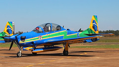 A-29A ESQUADRILHA DA FUMAÇA FAB 5707 (Rodrigo Durighello) Tags: 5707 a29a a29 super tucano fab esquadrilha da fumaça embraer emb314
