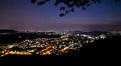 Blue hour (DrQ_Emilian) Tags: lanscape view night dark lights city bluehour sky colors dawn sunset longexposure travel explore weinstadt remstalkino remstal remsmurrkreis badenwürttemberg germany europe photography hobby stars