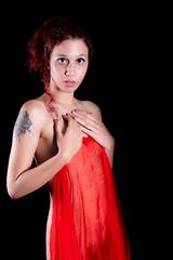 Meeks-4878 (DEVSart) Tags: nikon d810 implied model scraf pretty beau tattoo redhair red toronto