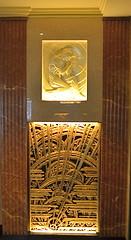 Lobby Grille, The Chanin Building, Manhattan (MPnormaleye) Tags: decorative streamline deco ornamentation brass golden interiors 1930s chanin building foyer lobby 24mm utata