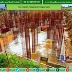 Construction Status of Omaxe the Resort Flats