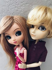 molly and dylan (angelwxngs) Tags: planning jun jp junplanning obitsu hautela la haute andrew dylan molly doll taeyang pullip