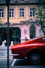 OSI 20m TS 2.3 (pedrojltorres) Tags: car red automotive automobile osi italian classic porto portugal film analog analogue 35mm 50mm zuiko 135 14 agfa olympus om2n ct precisa 100