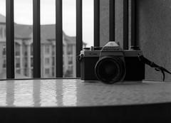 The K1000 (Alex Luyckx) Tags: cameras gear portraits product pentax pentaxk1000 k1000 slr graflex pacemakercrowngraphic crowngraphic presscamera largeformat 4x5 viewcamera schneiderkreuznach symmars 156210agfaagfapanagfa apx 100apx 100asa100ilfordilford perceptolpeceptolstock10bwblack whitepentax spotmeter vepson v700adobe photoshop ccfilmfilm photography believeinfilm filmisalive filmisnotdead