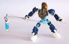 Vohayu (Librarian-Bot) Tags: moc lego bionicle toa lightning electricity