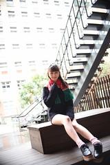 蕙羽1047 (Mike (JPG直出~ 這就是我的忍道XD)) Tags: 小羽 台灣大學 鍾蕙羽 june nikon d750 model beauty 外拍 portrait 2017