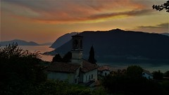 20180730_210336 (2) (kriD1973) Tags: sunset tramonto sonnenuntergang coucher soleil dämmerung crepuscolo europa europe italia italy italien italie lombardia lombardei lombardie iseo lake lago lac see sebino prealpi