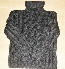 Heavy charcoal cabled celtic aran turtleneck (Mytwist) Tags: turtleneck tneck tn rollneck rollerneck roulé sweater design fashion fetish fuzzy wool woolfetish winter style ski knitted handgestrickt handknit retro timeless passion love craft chunky aran aranstyle aranjumper aransweater dublin ireland irish fisherman donegal mohair celtic scottish