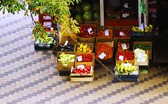 local beauties (lera_abrakadabra) Tags: everydaylife casual reallife streetphotography streetscene red bright food vegetablesandfruits treasury fresh city citylife cityscape