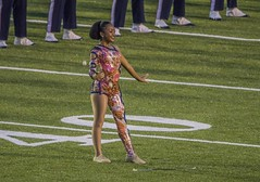 VSU Twirler (Airborne Guy) Tags: band marchingband college university field football halftime hbcu meac norfolkstate people music students virginiastate vsu airborne guy