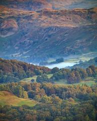 Nab Cottage (kieran_metcalfe) Tags: trees sunrise landscape nabcottage inversion nature dawn mist latterbarrow fog countryside lakedistrict rydalwater lakeland