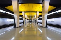 Shelepikha (gubanov77) Tags: shelepikha шелепиха subway underground metro transport platform station moscow russia solntsevskayaline filyovskypark architecture