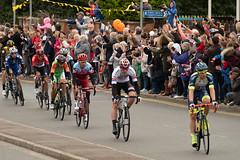 The Head of the Peloton (Sue_Hutton) Tags: eastleake nottinghamshire september2018 tourofbritain autumn event peloton racingcyclists sport