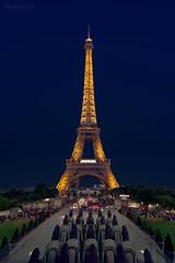 Torre-Eiffel (invesado) Tags: eiffel paris night trocadero blue hour city voigthlander ultron 40mm d750 nikon france urban downtown