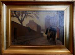 """""""Rue St Vincent"""", 1921, André Fau (1896-1982), musée Montmartre, rue Cortot, Paris XVIIIe, France. (byb64 (en voyage jusqu'au 26)) Tags: paris parigi париж باريس îledefrance france francia frankreich europe europa eu ue montmartre buttemontmartre muséemontmartre musée museo museum cuadro pianting tableau amisduvieuxmontmartre andréfau fau ruestvincent"""