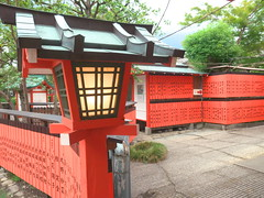 Lantern (yukky89_yamashita) Tags: 京都市 車折神社 芸能神社 shrine kyoto japan 灯篭 lantern