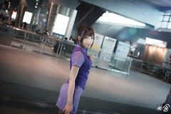 DSC_9969 (kueichi) Tags: 人 人像 戶外 空姐 制服 米倉
