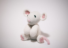 Squeak Squeak! (Eddy Summers) Tags: pentaxk1 pentaxaustralia pentax k1captures k1 fa77 7718 soft softtoy analogefexpro2 vsco mouse knitted crocheted homemade