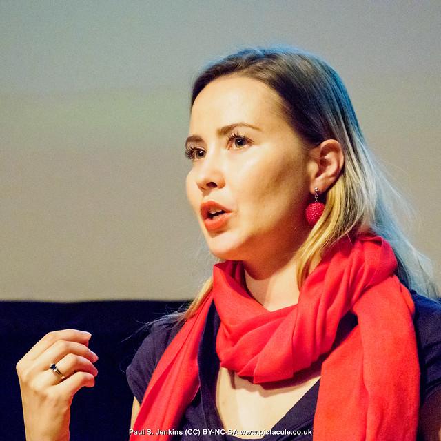 P8300203 Joanna Bagniewska at Winchester Skeptics