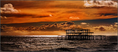 Brighton West Pier (Anthony Britton) Tags: someofmyfavouritesof2017and2018 canonesom5 18150mlens canon5dmk4 24105lens sigma100400 spitfire powerboats portrait speedway seascape steamlocomotives southafrica nature planes