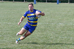 A mazy run (Steve Barowik) Tags: yorkshire westyorkshire nikond500 barowik leeds ls26 stevebarowik sbofls26 rugbyleague rl nationalleague 70200mmf28gvrii sport competition try conversion penalty sinbin referee linesman ball pitch sticks posts team watercarrier dx cropframe kick pass offload dropkick forwardpass centre wing prop forward back fullback unlimitedphotos wonderfulworld quantumentanglement oultonraiders skirlaugh nationalconferencedivisionone