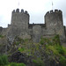 Conwy Castle -  Vicarage Gardens Car Park, Conwy
