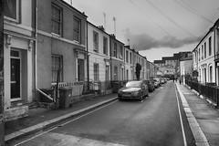 Sept160918BW0005 (RightCharlie100) Tags: blackandwhite blackwhite bw plymouth buildings cars