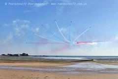 0930 Vixen Break (photozone72) Tags: jersey airshows aircraft airshow aviation redarrows reds redwhiteblue raf rafat canon canon80d 80d 24105mmf4l canon24105f4l