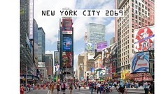 Matte Painting Times Square (nhi.nhi.27) Tags: mattepainting photoshop