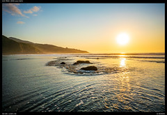 Rocks (Falcdragon) Tags: zeissloxia2821 sonya7riialpha ilce7rm2 beach westcoast newzealand seaside water sea tasmansea raglan landscape