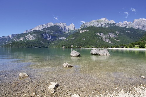 """Molveno Lake • <a style=""""font-size:0.8em;"""" href=""""http://www.flickr.com/photos/104879414@N07/44744830331/"""" target=""""_blank"""">View on Flickr</a>"""