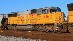 UP 2426 at Hazel Dell (HighHor$epower) Tags: up2426 graintrain hazeldell sd60m roster unionpacific springfieldsubdivision