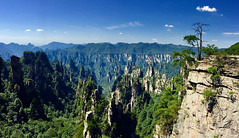 The Plateau, ZhangJiaJie (mich 瑜) Tags: zhangjiajie stone forest pano iphone