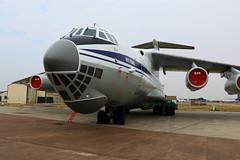 Ukrainian AF Il-76 (joolsgriff) Tags: ilyushin il76md candid 78820 ukrainianairforce riat 2018 riat2018 royalinternationalairtattoo raffairford