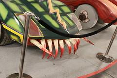 Chevrolet corvette Gator car - Death race 200 (CHRISTOPHE CHAMPAGNE) Tags: 2018 usa nevada lasvegas museum hollywwod car gator death race 2000 corvette chevrolet