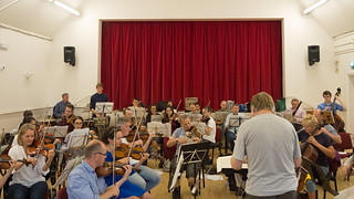 DSCN1374c Ealing Symphony Orchestra 25th August 2018. Leader Peter Nall, Conductor John Gibbons. Chorley Wood (Photo: Heather Humphreys)