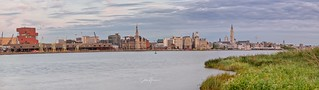 Antwerp Panorama Cityscape