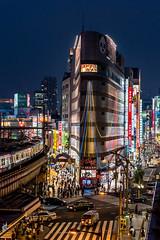 Tokyo (drasphotography) Tags: tokyo japan urban nightshot city cityscape train zug station market markt drasphotography nikon d810 nikkor2470mmf28 travel travelphotography reise reisefotografie nacht notte lights reklame advertising ueno
