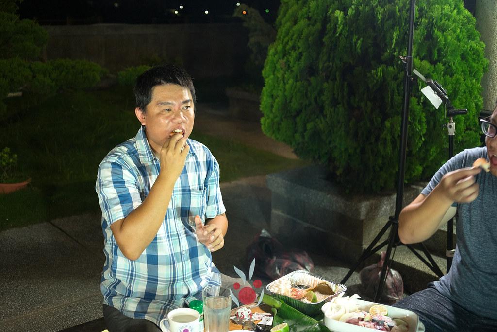 最奢華的中秋烤肉組 海鮮大集合之 龍膽石斑、泰國蝦、蚵、大卷 |小農聯盟25